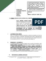 Medida Cautelar Fuera Del Proceso - Flor Maribel Tuncar Tunqui