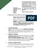 Medida Cautelar Fuera Del Proceso - Epifania Rogelia Gomez Quispe