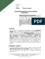 Accion de Amparo - San Ramon - Nerida Garcia Barahona