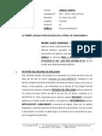 Recurso de Apelacion de Sentencia - Habeas Corpus 10 - Maximo Suazo Rodriguez