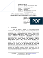 Recurso de Agravio Constitucional 2 - Habeas Corpus INNOVATIVO
