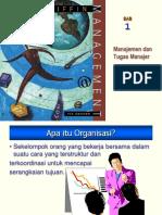 manajemen dan tugas manajer