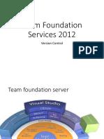 Team Foundation Services 2012