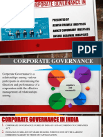 EVOLUTION OF CORPORATE GOVERNANCE PRACTICE IN INDIA