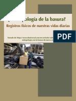 Antropología de la basura (Nagle)