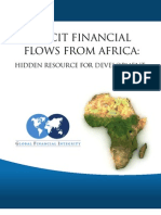 Illicit Financial Flows From Africa- Hidden Resource for Development
