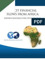 Illicit Financial Flows From Africa- Hidden Resource for Development