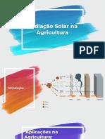Radiação Solar na Agricultura