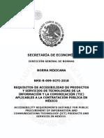 NMX-R-099-SCFI-2018