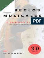 Arreglos musicales. 10 principios básicos