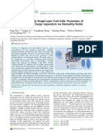 Approaching Durable Single-Layer Fuel Cells  Promotion of