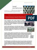 RFID for Precast Concrete Manufacture