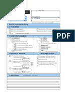 Formulario Unico de Habilitacion Urbana -FUHU Licencia