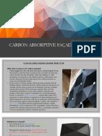Carbon absorptive façade design