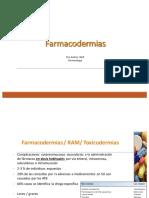 Farmacodermias 2017