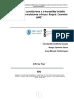 Morbilidad contribuyente a la mortalidad evitable INFORME FINAL 2014.pdf