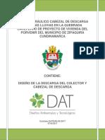 DISEÑO HIDRAULICO DESCARGA Y CABEZAL_Marzo2018