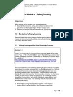 Lifelong Learning Module 2