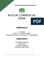MCB - Report