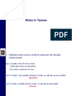 Rules on Tenses-re
