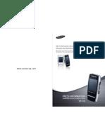 Yepp` YP-T8 Manual