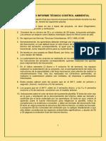 PLANTILLA INFORME TECNICO AMBIENTAL 2018