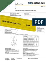 SCAFOM-RUX - Vigas H20 (brochure PT)