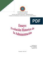Evolución Histórica de la Administración