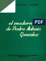 El modernismo de Pedro Antonio González