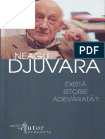 Neagu Djuvara - Exista Istorie Adevarat