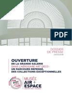 Le Musée de l'Air et de l'Espace - dossier de presse