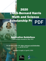 bh scholarship program guidelines 2020