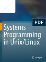K. C. Wang - Systems Programming in Unix_Linux (2018, Springer)