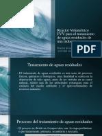 Reactor Volumétrico FVV para el tratamiento de aguas pre