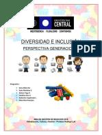 Diversidad e Inclusión (Perspectiva Generacional)