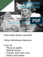 [kuliah 18] Geriatric Psikiatri FK-Warmadewa 2013 (01).ppt