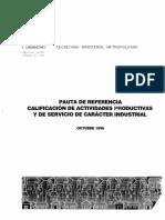 MINVU circular 95-98  (Clasificación Actividad).pdf