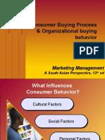 Consumer Buying Process & Organizational Buying Behavior