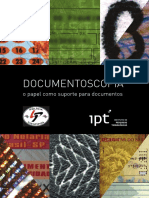 DOCUMENTOSCOPIA. o papel como suporte de documentos