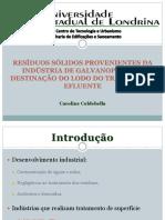 Resíduo sólido de galvanoplastia - Final.pptx