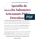 → Guia de Receita Sabonetes Artesanais PDF | Download
