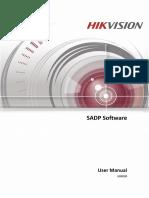 Hikvision SADP User Manual 5-12-18