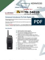 Kenwood TK-3401D dPMR446_informatie