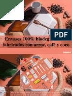 Yammine - Envases 100% Biodegradables Fabricados Con Arroz, Café yCoco