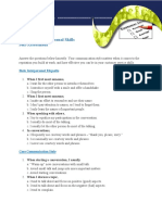 Interpersonal Skills Assessment