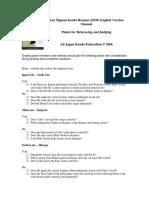 ZNKR Grading points