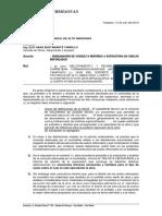 SUBSANACIÓN DE CONSULTA REFERIDO A ESTRUCTURA DE SUELOS REFORZADOS