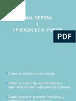FODA Y 5 FUERZAS M. PORTER