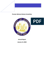 2020 Riverside County Pension Review Advisory Committee Report