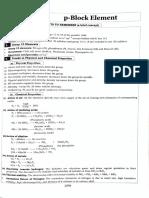 P Block Elements MHT CET Synopsis.pdf